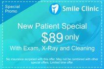 Smile Clinic-Allen Park, MI - New Patient Special Offer